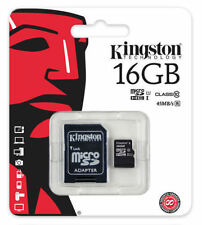 Kingston 16GB Micro SD SDHC Class 10 45MB/s Memory Flash Card SDC10G2/16GB