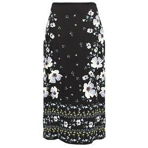 Erdem-Black-Rose-Hip-Night-Silk-Pencil-Skirt-UK12-IT44