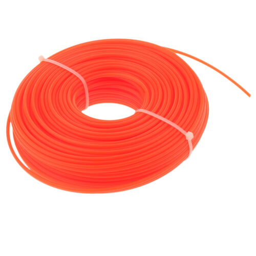 Round//Square Heavy Duty Steel Strimmer Trimmer Line Brushcutter Cord Wire