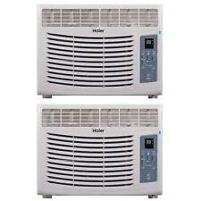 Haier Home/Office Energy Star Window Air Conditioner 5,100 BTU AC Unit (2 Pack)