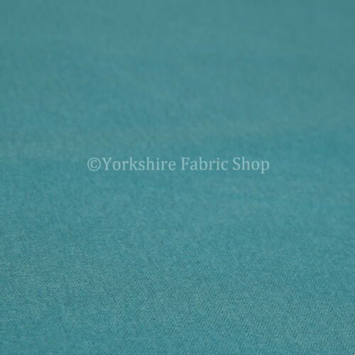 New Blue Teal Plain Wool Chenille Durable Quality Upholstery Furnishing Fabric