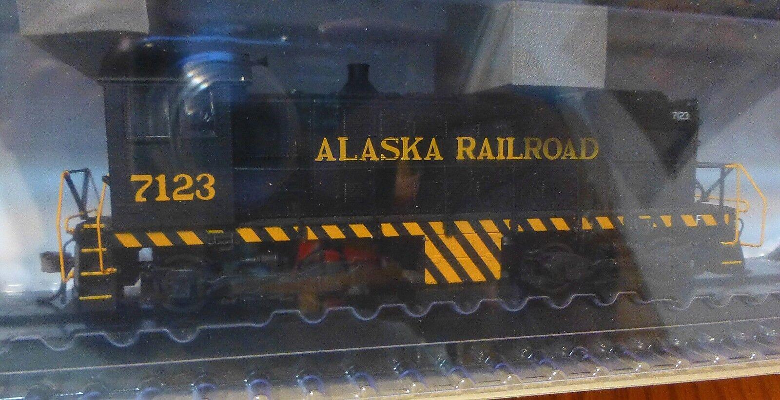 Atlas HO  10001908 Alaska Railroad Rd  7123 Alco S-2 w/DCC & Lok Sound