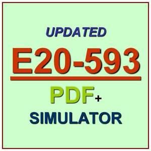 Dell EMC Backup & Recovery Implementation Practice Test E20-593 Exam QA PDF+SIM