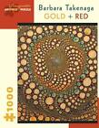 Barbara Takenaga Gold Red 1000piece Jigs Book 0764968793 GDN
