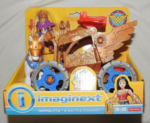 New Fisher Price Imaginext DC Super Friends Wonder Woman Queen Hippolyta Chariot