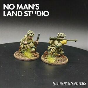 Pro-Painted-28mm-Bolt-Action-Us-Airborne-Bazooka-Team-D-day-Warlord-Games-Ww2