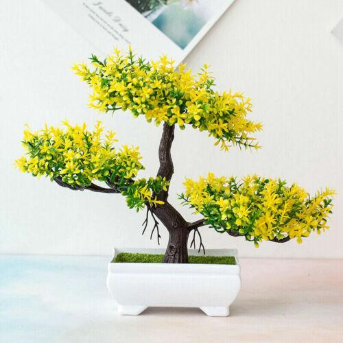 Bonsai Simulation Artificial Pot Plant Home Office Fake Pine Tree Decor Durable