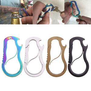 Metal-Hook-Hanging-Buckle-Clip-Outdoor-Keychain-Keyring-EDC-Tool-Alloy-Carabiner