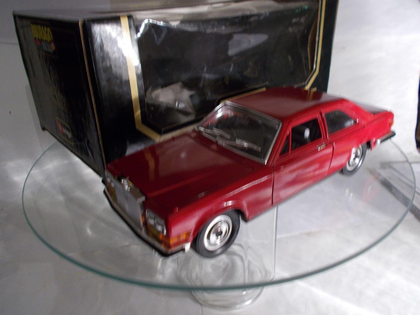 BURAGO 1 22    Rolls Rolls Rolls Royce Camargue  von 1983 , weinrot 8e9b4a