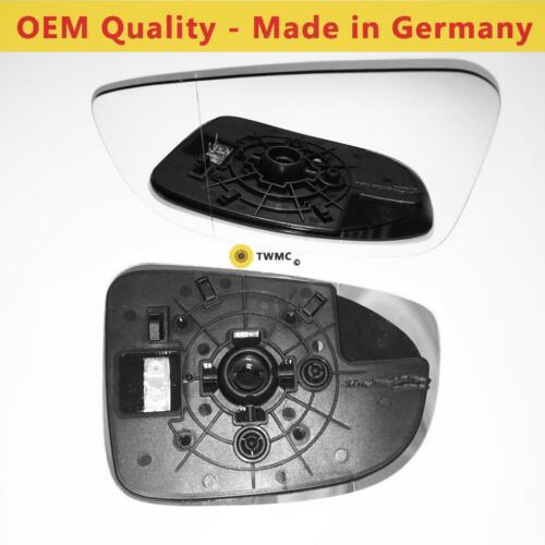 Mazda 3 Wing Mirror With Base Heated LEFT HAND 2013 to 2018