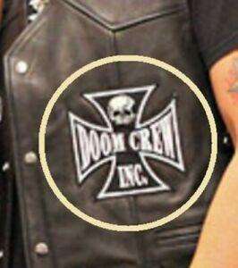 Noir Label Society Patch Séries: Sdmf BLS Doom Ras Patch