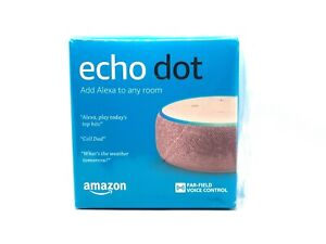 Amazon-Echo-Dot-3rd-Generation-Smart-Assistant-Plum-Fabric-Wifi-Speaker-Alexa