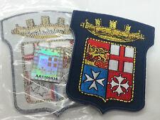 TOPPA PATCH JACK MARINA MILITARE ITALIANA STOFFA ARALDICO PRODOTTO UFFICIALE