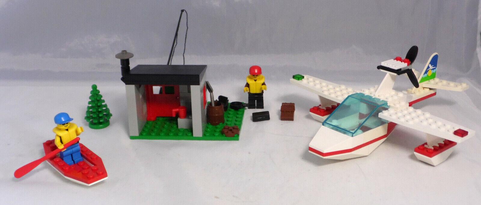 Lego 1817 Wasserflugzeug mit Fischerhütte Fischerhütte Fischerhütte Canadian Lake District komplett  13 42c451