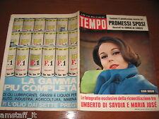 RIVISTA TEMPO 1964/30=SILVANA MANGANO=GIANNA GALLI=SANDRA MILO=SIRIKIT SOVRANA=