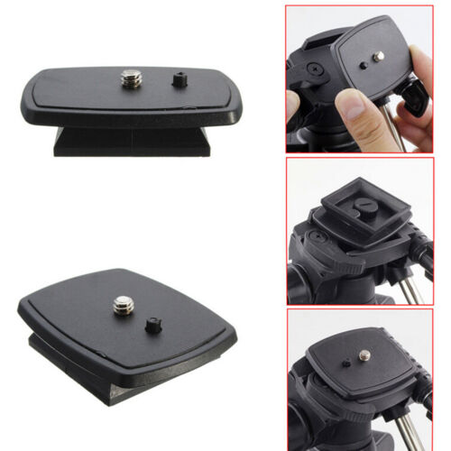 Tripod Quick Release Plate Screw Adapter Mount Head For DSLR SLR  Camera H.dr