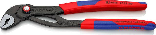 Knipex 87 22 250 Cobra® QuickSet Water Pump Plier 8722250 250 mm