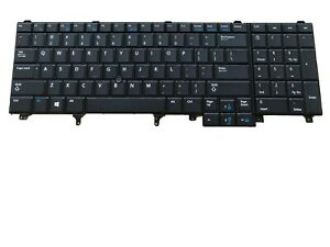 New-Backlit-US-Keyboard-For-Dell-Latitude-E6540-Precision-M4800-M6800-0564JN