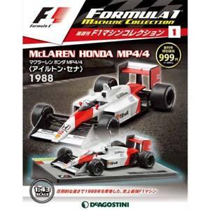 DeAgostini-MCLAREN-HONDA-MP4-4-Ayrton-Senna-Vo-1-F1-Formula-Machine-Collection