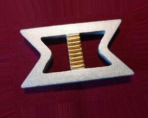 Star Trek Movie 2-6 Uniform Rank Pin Pip Badge Insignia REAR ADMIRAL Maroon x2