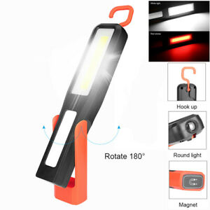LED-Magnetic-Work-Light-Car-Garage-Mechanic-USB-Rechargeable-Home-Torch-Lamp
