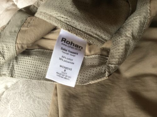 Rohan Donna dalliol Pantaloni Taglia 8
