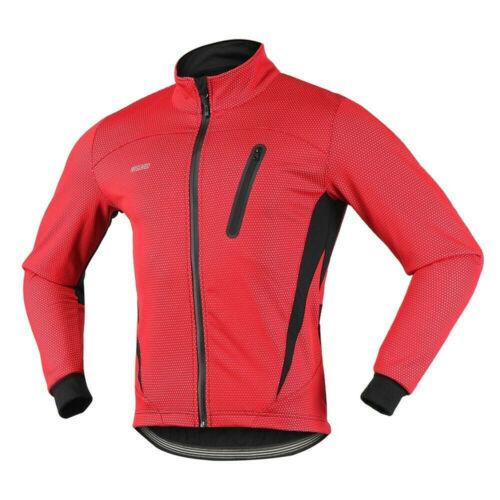 CICLISMO GIACCA INVERNALE IN PILE BICICLETTA Abbigliamento Antivento Impermeabile Giacca Sportiva