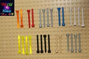 Lego ® Lot x10 Antenne Poteau Mat Antennas Posts Choose Color ref 3957 30064