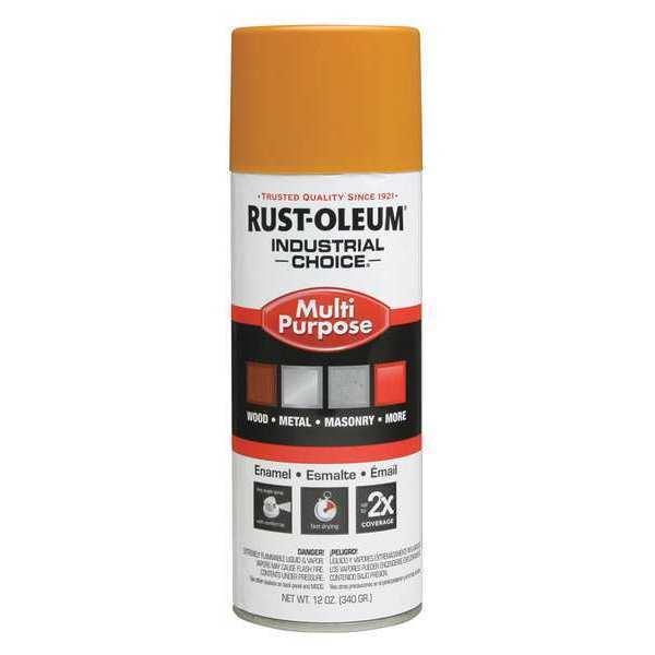 Rust Oleum 647 1643830 School Bus Yellow Choice Paint 12 Oz