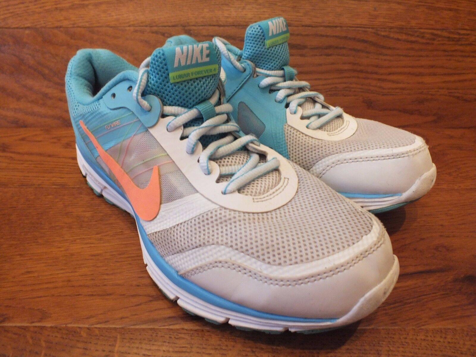 Femme Nike Lunar Forever 4 Chaussures De Course Baskets UK 6 EU 40