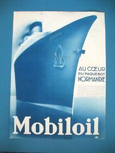 PUBLICITE-DE-PRESSE-MOBILOIL-AU-COEUR-DU-PAQUEBOT-NORMANDIE-FRENCH-AD-1935