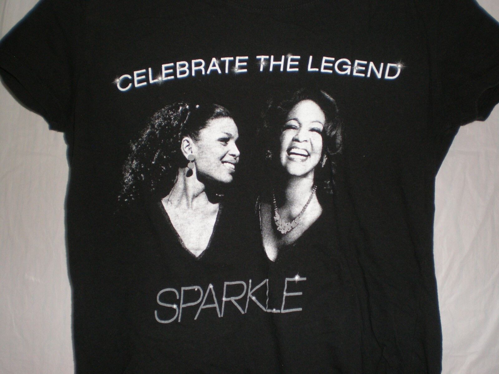 Sparkle T SHIRT Celebrate The Legend In Theaters August 17 2012 grand
