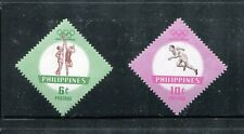 Philippines 821-822,, MNH. Olympics Rome-1960.Basketball,
