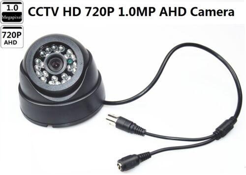 CCTV HD 720P 1.0MP IR 24PCS LED  Lens 3.6mm Dome  AHD Camera For CCTV AHD DVR