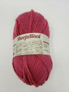 Sheepswool Wool Yarns Brunswick Winterberry 3.5 Ounces 260 Yards 1 Skein 31872