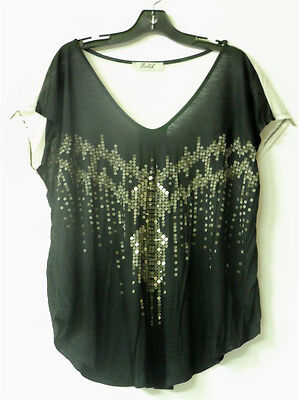 BLACK LADIES FLOWING WESTERN CLOTHING SHIRT CUTE NEW 1X 2X 3X FREE SHIPPING