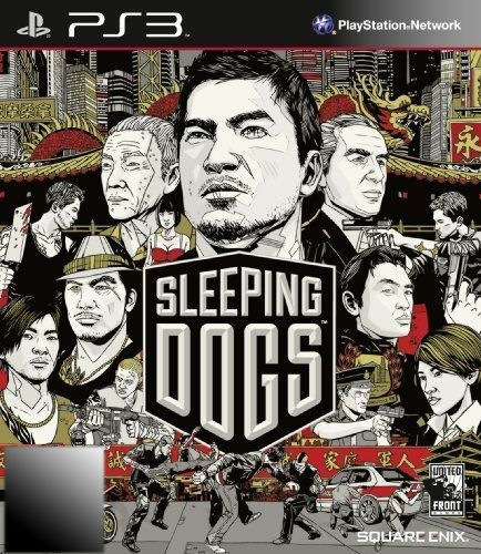 1 of 1 - Sleeping Dogs (Sony PlayStation 3, 2012) with Booklet