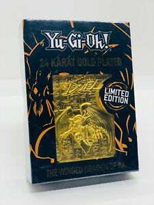 YUGIOH-The-Winged-Dragon-of-Ra-Metal-Gold-Card-24-Karat-Limited-Edition-OVP