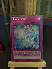 3X SESL-EN026 RIKKA SHEET SECRET RARE 1st EDITION IN HAND NEW NEAR MINT YUGIOH