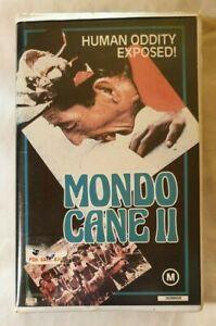 Mondo-Cane-II-Mondo-Pazzo-VHS-1963-Shockumentary-Film-Jacopetti-1985-CBS-FOX