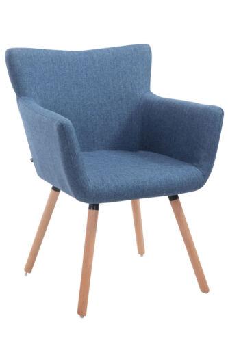 Konferenzstuhl Antwerpen Stoff Armlehnstuhl Holz Stuhl Küchenstuhl
