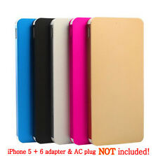 Ultrathin 50000mAh External Power Bank Backup Battery Charger for Cell Phone