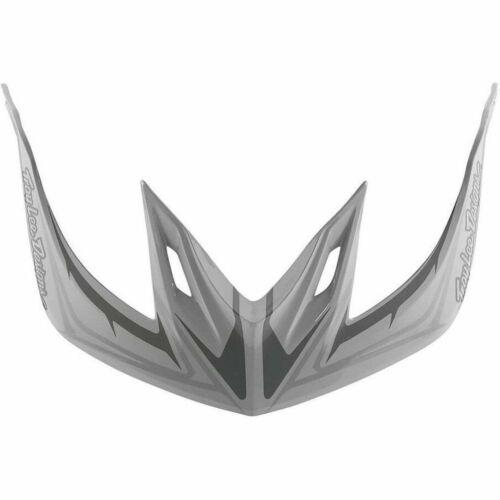 Universal Troy Lee Designs A2 Bike Helmet Replacement Visor Pinstripe 2 White