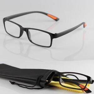 Ultraleichte-Lesebrille-1-bis-4-Lesehilfe-Brillenbeutel-Brillentuch-NEU