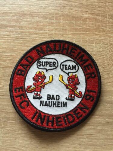 Eishockey Aufnäher Bad Nauheimer EFC, Neuw