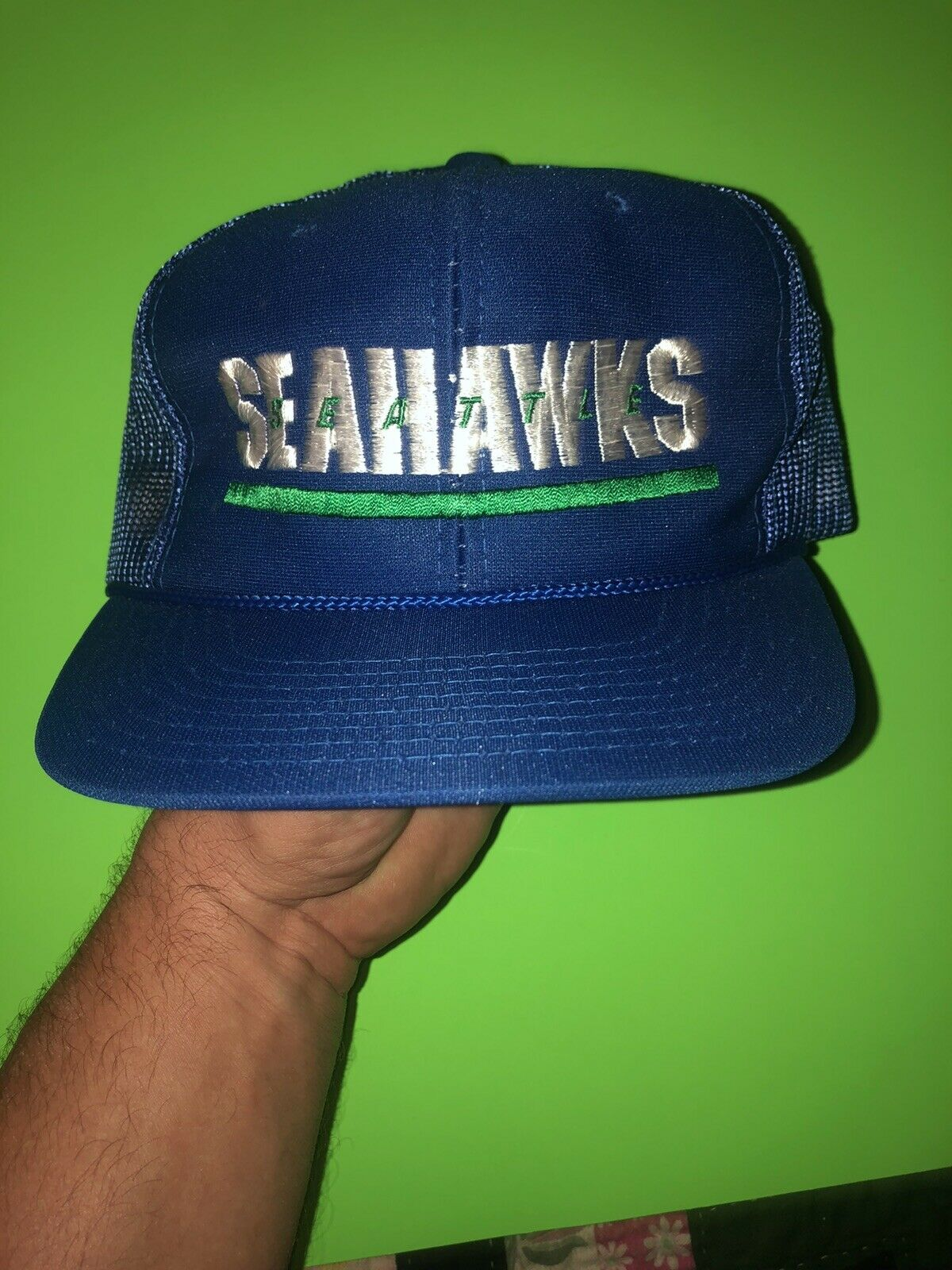 Vintage Sports Specialties Seattle Seahawks Spell… - image 3