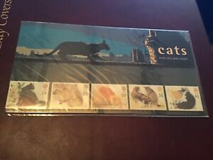 1995-PRESENTATION-PACK-CATS-No-254-WITH-B-INSERT-U-MINT-VERY-NICE