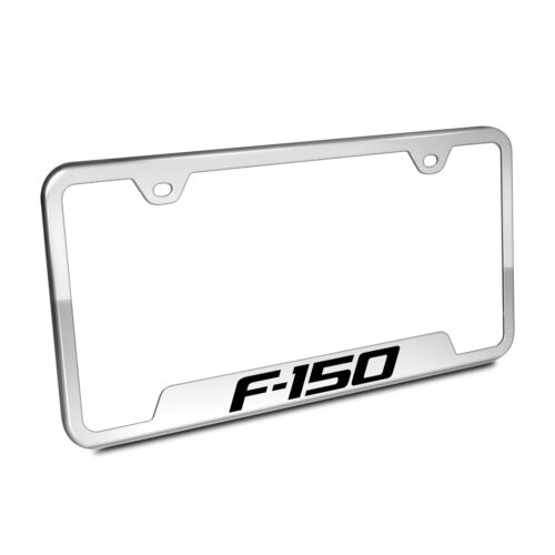 Ford F-150 Chrome Stainless Steel 50 States License Plate Frame
