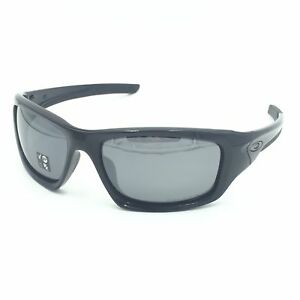 8c74e49e1c New Oakley Valve OO9236 12-837 Polished Black W  Black Iridium ...