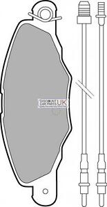 PD4-FRONT-Brake-Pads-To-Suit-XANTIA-2-0-HDI-109-DIESEL